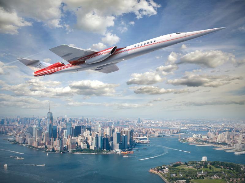Zukunft des Reisens: Aerion - Überschall-Jet - NewYork