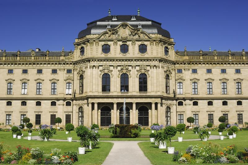 Deutschland: Bayern - Franken - Würzburg - Residenz