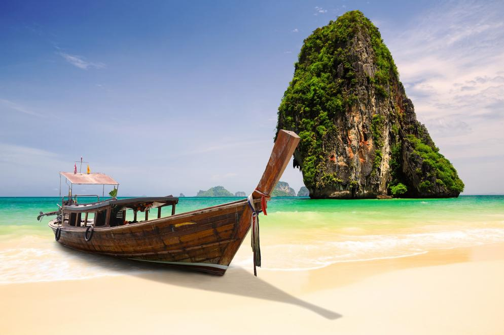 Thailand: Krabi - Railay-Beach - Strand